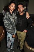 Neelam Gill and Naughty Boy attend the Massive Attack after party at 100 Wardour St following their performance at the Barclaycard British Summer...