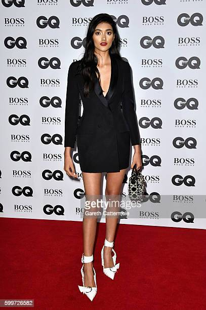 Neelam Gill arrives for GQ Men Of The Year Awards 2016 at Tate Modern on September 6 2016 in London England