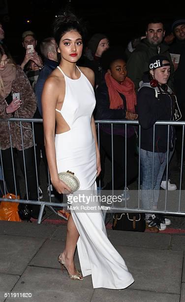 Neelam Gill attending the Elle Style awards on February 23 2016 in London England