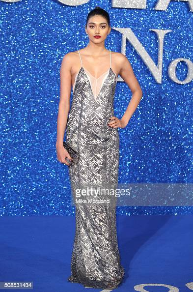 Neelam Gill attends a London Fan Screening of the Paramount Pictures film 'Zoolander No 2' at Empire Leicester Square on February 4 2016 in London...
