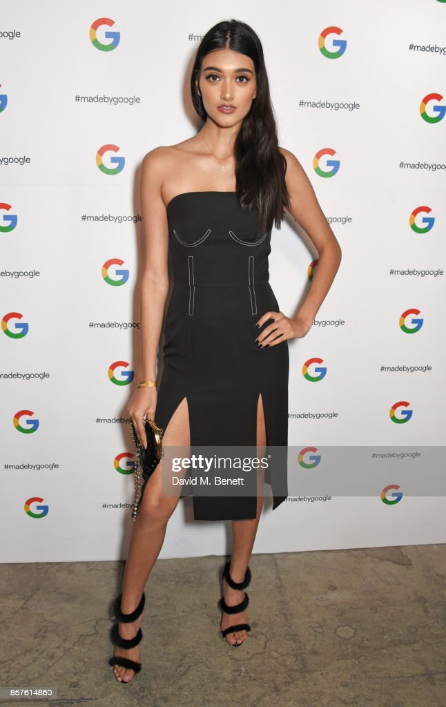 Neelam Gill attends Google's Pixel 2 phone launch at The Old Selfridges Hotel on October 4, 2017 in London, England.