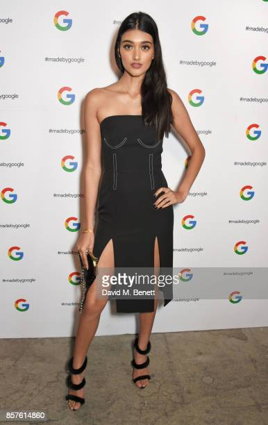 Neelam Gill attends Google's Pixel 2 phone launch at The Old Selfridges Hotel on October 4 2017 in London England
