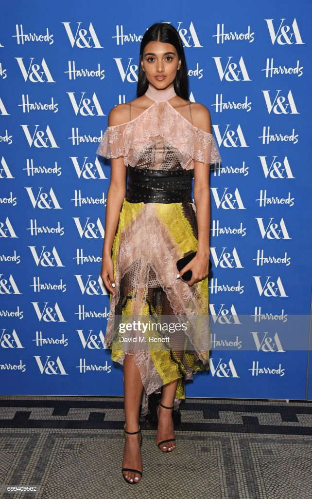 Neelam Gill attends the 2017 annual V&A Summer Party in partnership with Harrods at the Victoria and Albert Museum on June 21, 2017 in London, England.