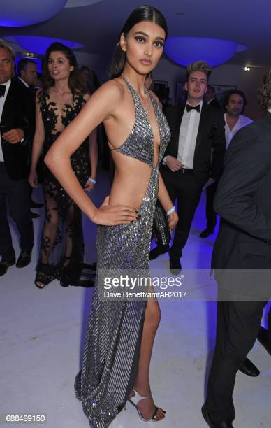 Neelam Gill attends the amfAR Gala Cannes 2017 at Hotel du CapEdenRoc on May 25 2017 in Cap d'Antibes France