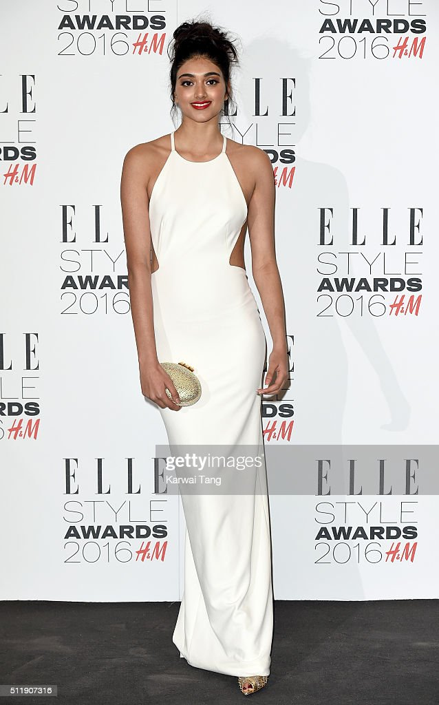 Neelam Gill attends The Elle Style Awards 2016 on February 23, 2016 in London, England.