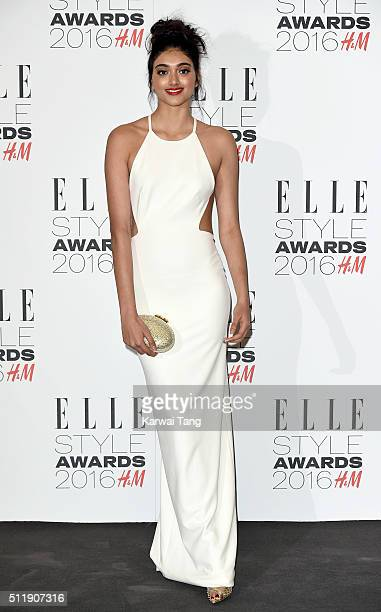 Neelam Gill attends The Elle Style Awards 2016 on February 23 2016 in London England