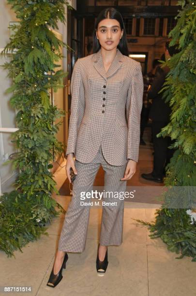 Neelam Gill attends the Stella McCartney Christmas Lights 2017 party on December 6 2017 in London England