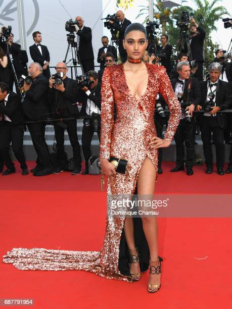 Neelam Gill attends the 'The Beguiled' screening during the 70th annual Cannes Film Festival at Palais des Festivals on May 24 2017 in Cannes France