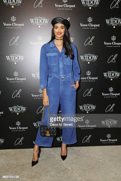 Neelam Gill attends The Veuve Clicquot Widow Series By Carine Roitfeld And CR Studio on October 19 2017 in London England