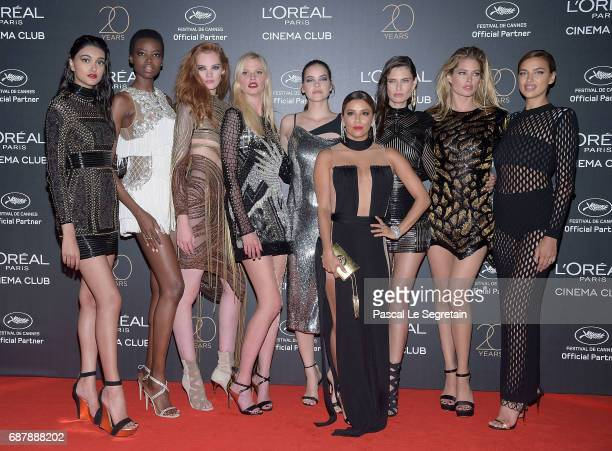 Neelam Gill Maria Borges Alexina Graham Lara Stone Barbara Palvin Eva Longoria Bianca Balti Doutzen Kroes and Irina Shayk attend the Gala 20th...