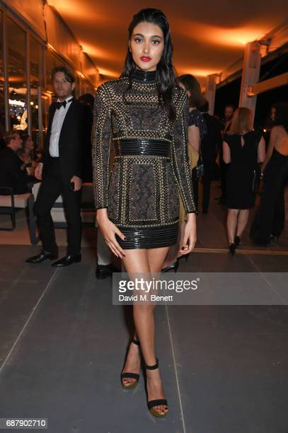 Neelam Gill UK Spokesmodel for L'Oreal Paris attends the L'Oreal Paris Cinema Club party celebrating L'Oreal's 20th anniversary as the official...