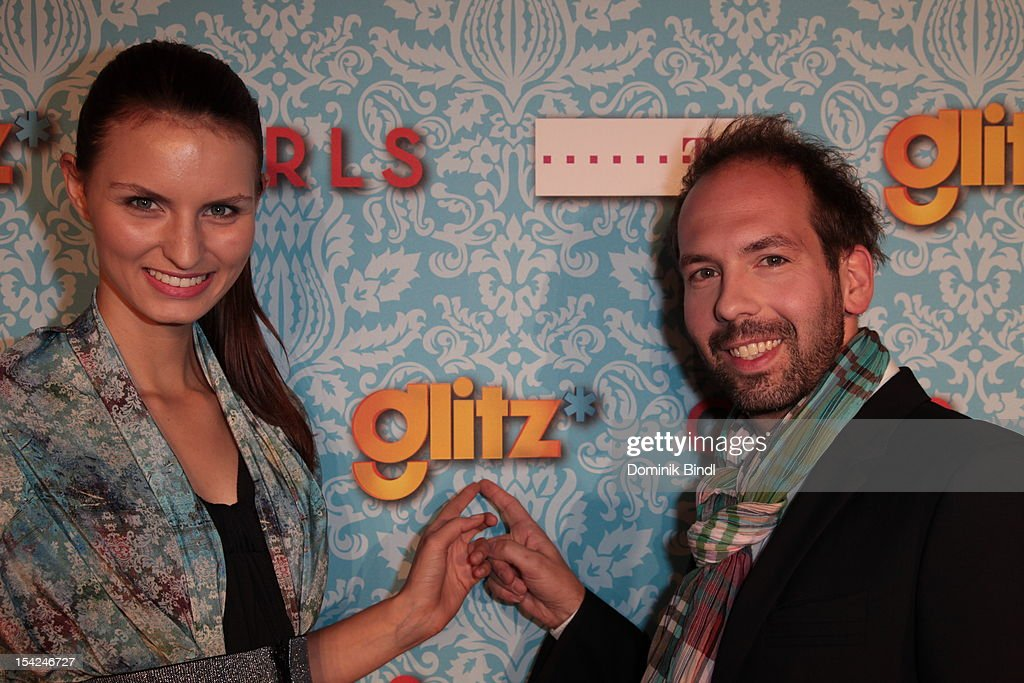 Neele Hehemann and Kay Rainer attend 'Girls' preview event of TV channel glitz* at Hotel Bayerischer Hof on October 16, 2012 in Munich, Germany. The series premieres on October 17, 2012 (every Wednesday at 9:10 pm on glitz*).