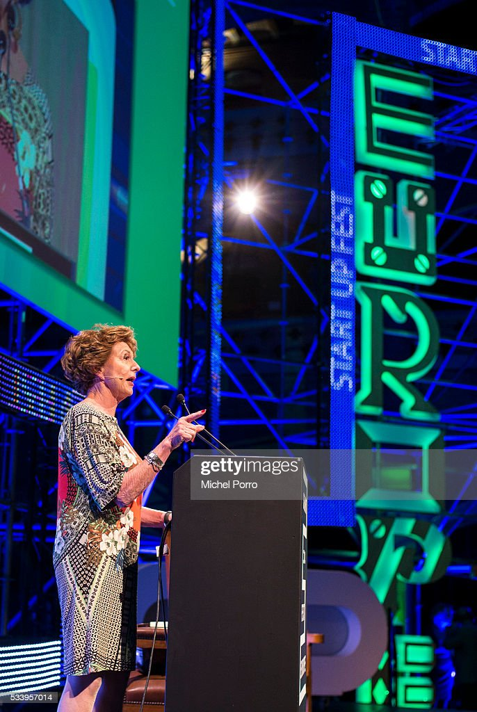 Neele Kroes attends the kick-off of Startup Fest Europe on May 24, 2016 in Amsterdam, The Netherlands. The event facilitates match-making between investors and startup entrepreneurs from all over the world.