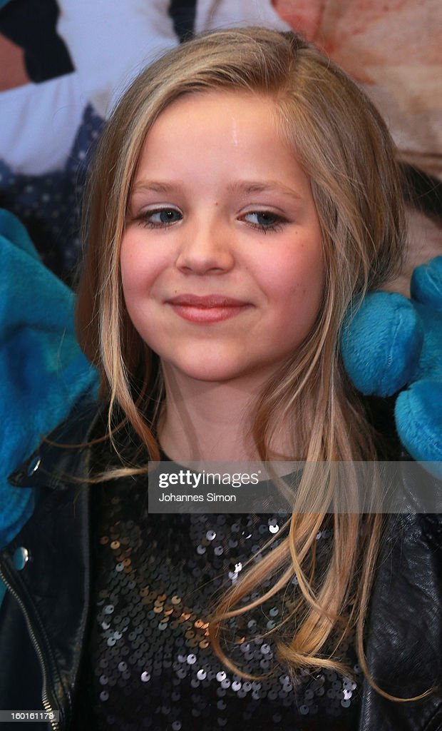 Neele Marie Nickel attends the 'Fuenf Freunde 2' movie premiere at CineMaxx Cinema on January 27, 2013 in Munich, Germany.