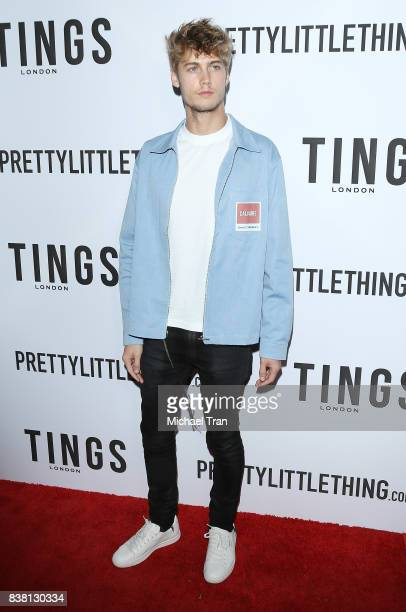 Neels Visser arrives at the TINGS 'Secret Party' launch party held at Nightingale on August 23 2017 in West Hollywood California
