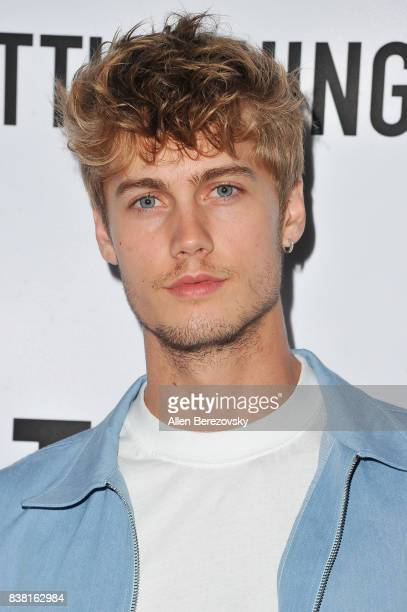 Neels Visser attends 'Secret Party' Launch Celebrating Cover Star Cameron Dallas hosted by TINGS at Nightingale on August 23 2017 in West Hollywood...