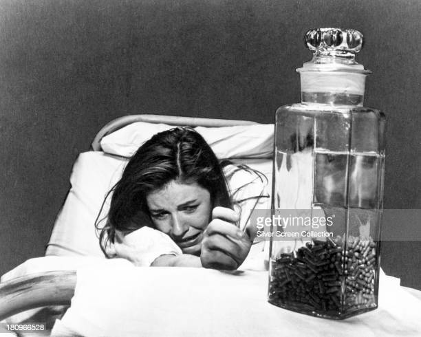 Neely O'Hara played by American actress Patty Duke suffers drug withdrawal in 'Valley Of The Dolls' directed by Mark Robson 1967