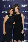 Neera Tanden and Robbie Myers attend a reception hosted by ELLE EditorinChief Robbie Myers and Center for American Progress President Neera Tanden...
