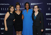 Neera Tanden Melissa Harris Perry Teresa Younger and Kate Brown attend a reception hosted by ELLE EditorinChief Robbie Myers and Center for American...