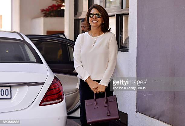 Neetu Singh during the annual Christmas lunch hosted by Shashi Kapoor in Mumbai