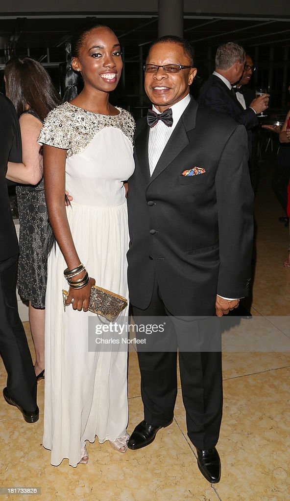 Nefatari Cooper and Stephen C. Byrd attend 2013 Multicultural Gala: An Evening Of Many Cultures at Metropolitan Museum of Art on September 23, 2013 in New York City.