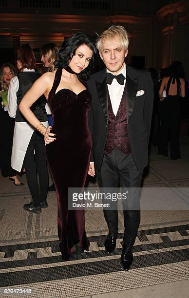 Nefer Suvio and Nick Rhodes attend as PORTER hosts a special performance of Letters Live in celebration of their Incredible Women of 2016 at The VA...