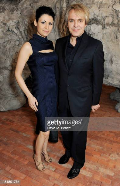 Nefer Suvio and Nick Rhodes attend the VIP opening of the Serpentine Sackler Gallery and the launch of their autumn exhibitions on September 25 2013...