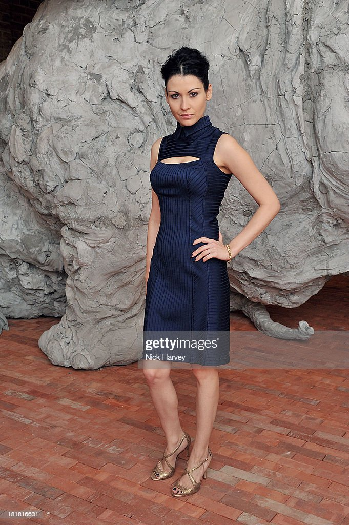 Nefer Suvio attends the VIP opening of The Serpentine Sackler Gallery & Autumn Exhibitions at The Serpentine Sackler Gallery on September 25, 2013 in London, England.