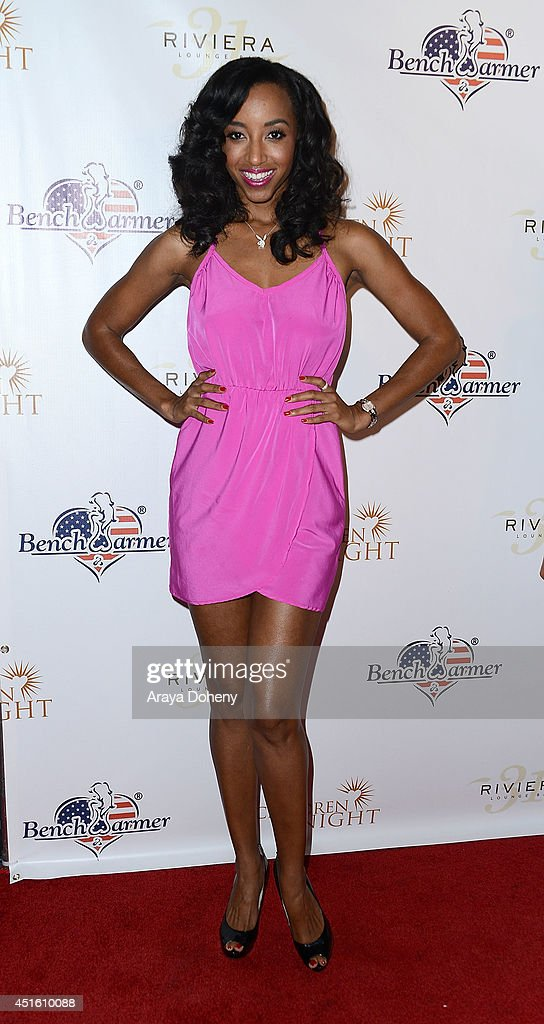 Neferteri Shepherd attends the Children of The Night and BenchWarmer's annual Stars & Stripes event on July 1, 2014 in Los Angeles, California.