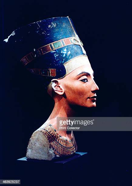 Nefertiti Egyptian queen and consort of Akhenaten 14th century BC Painted sculptured head found at Amarna in 1912 Nefertiti reigned from 13531336 BC...