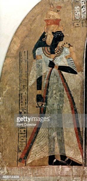 Nefertiti Tomb of Amenophis Egypt Great Royal Wife of the Egyptian Pharaoh Amenhotep Egyptian Museum Berlin