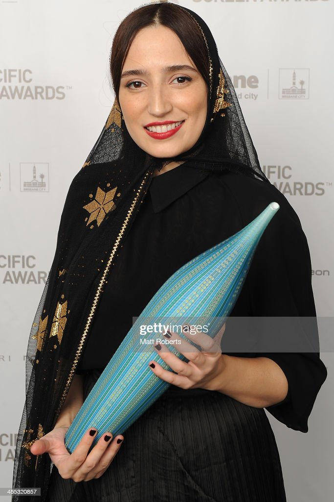 Negar Javaherian poses for a portrait during the Asia Pacific Screen Awards (APSA) at Brisbane City Hall on December 12, 2013 in Brisbane, Australia.