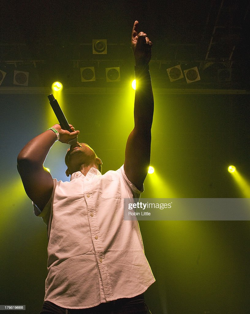 Negash Ali performs on stage at KOKO on September 4, 2013 in London, England.
