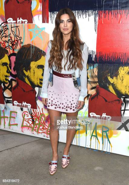 Negin Mirsalehi at the TommyLand Tommy Hilfiger Spring 2017 Fashion Show on February 8 2017 in Venice California
