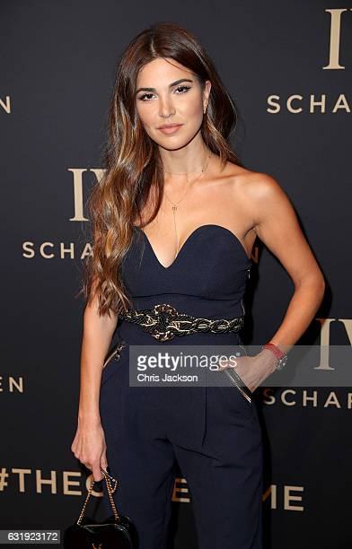 Negin Mirsalehi attends the IWC Schaffhausen 'Decoding the Beauty of Time' Gala Dinner during the launch of the Da Vinci Novelties from the Swiss...