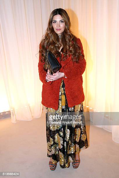 Negin Mirsalehi attends the Lanvin show as part of the Paris Fashion Week Womenswear Fall/Winter 2016/2017 on March 3 2016 in Paris France