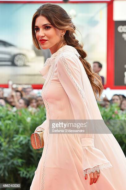 Negin Mirsalehi attends the opening ceremony and premiere of 'Everest' during the 72nd Venice Film Festival on September 2 2015 in Venice Italy
