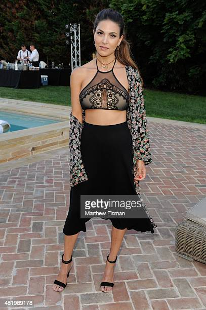 Negin Mirsalehi attends The REVOLVE Hamptons House on July 25 2015 in Sagaponack New York