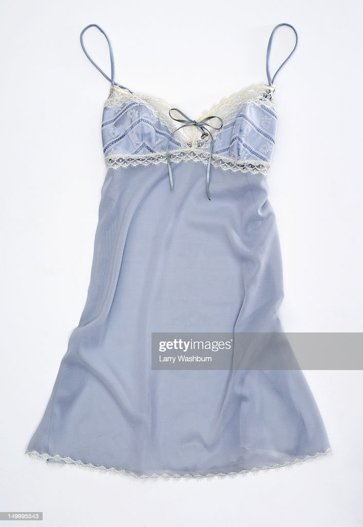 A negligee on a white background
