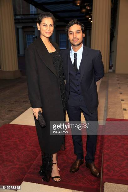 Neha Kapur and Actor Kunal Nayyar attend a reception this evening to mark the launch of the UKIndia Year of Culture 2017 on February 27 2017 in...