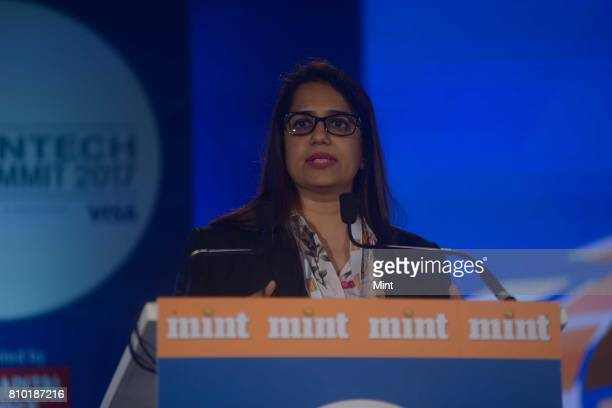 Neha Punater Partner and HeadDigital Strategy Innovation and Fintech at KPMG India photographed during MINT Fintech Summit 2017 in Mumbai on June 23...