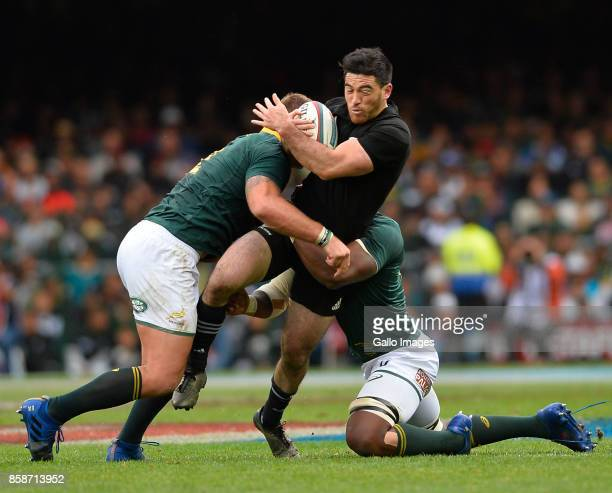 Nehe MilnerSkudder of New Zealand during the Rugby Championship 2017 match between South Africa and New Zealand at DHL Newlands on October 07 2017 in...
