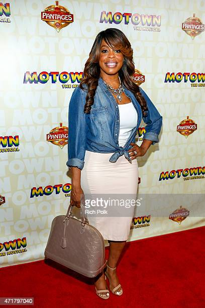 Neicy Nash attends 'MOTOWN THE MUSICAL' at the Pantages Theatre on April 30 2015 in Hollywood California