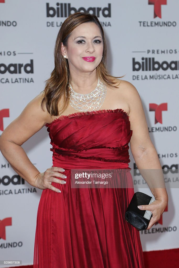 Neida Sandoval attends the Billboard Latin Music Awards at Bank United Center on April 28, 2016 in Miami, Florida.
