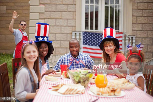 Neighbors on Independence Day