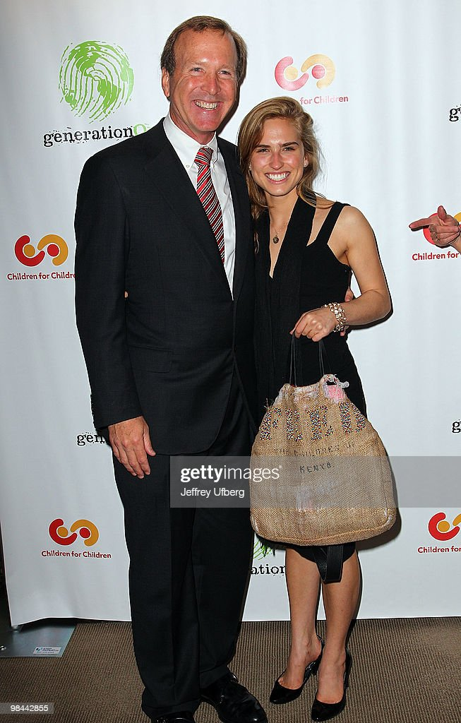 Neil and Ashley Bush attend the 9th annual The Art Of Giving benefit by Children For Children at Christie's on April 13, 2010 in New York City.