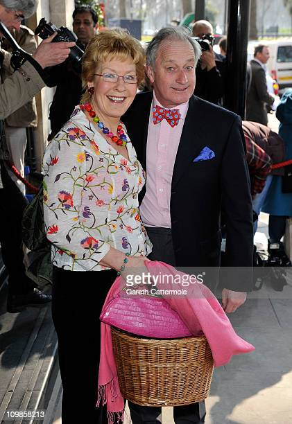 Neil and Christine Hamilton attend the TRIC Awards at the Grosvenor House Hotel on March 8 2011 in London England