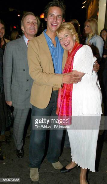 Neil and Christine Hamilton with their grandson Charlie arrive at Collection in west London last night for a party to celebrate the Artist Formally...