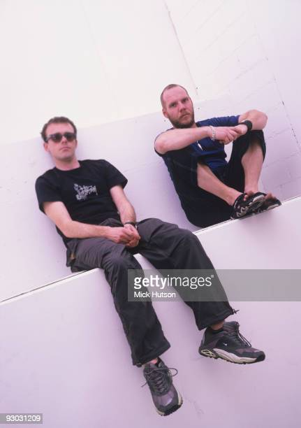 Neil Barnes and Paul Daley of Leftfield in 2000