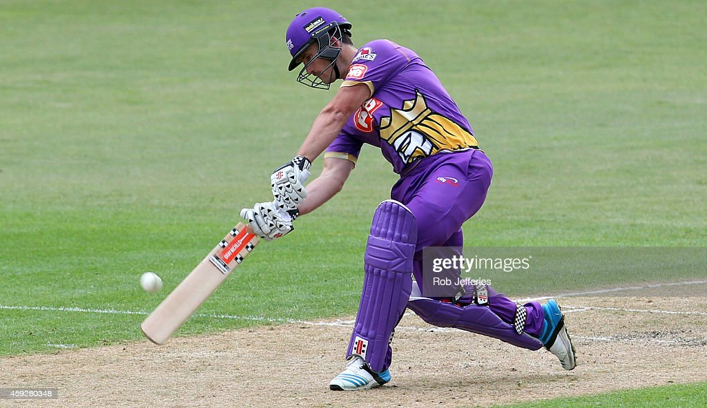 <a gi-track='captionPersonalityLinkClicked' href=/galleries/search?phrase=Neil+Broom&family=editorial&specificpeople=887253 ng-click='$event.stopPropagation()'>Neil Broom</a> of Canterbury bats during the Georgie Pie Super Smash T20 match between the Otago Volts and the Canterbury Kings at University Oval on November 20, 2014 in Dunedin, New Zealand.